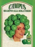 Groene appeltjesshampoo